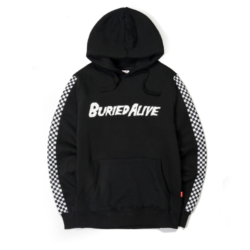 [단독30%할인] [Buried Alive] Ba 15 Checkers Hood_Black