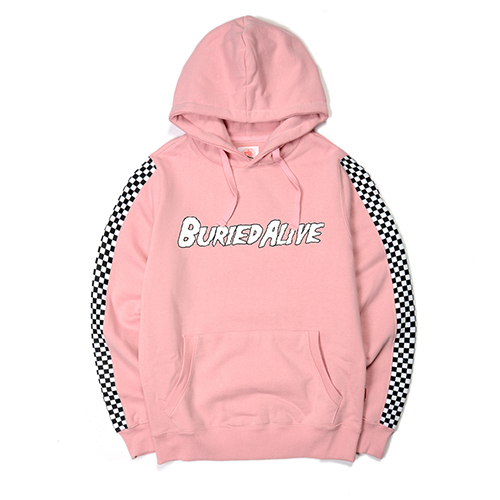 [단독30%할인] [Buried Alive] Ba 15 Checkers Hood_Pink