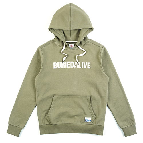 [단독30%할인] [Buried Alive] Ba Print Hood_Green
