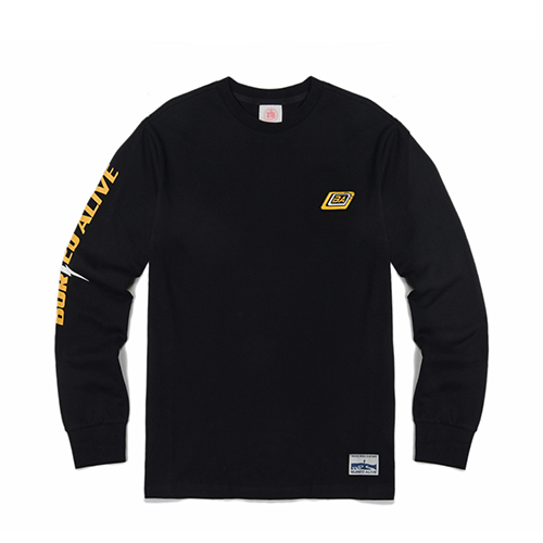 [단독30%할인] [Buried Alive] Ba Wave Crewneck_Black