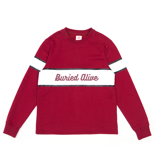 [단독30%할인] [Buried Alive] Ba Catchup Sports Sleeve_Burgundy