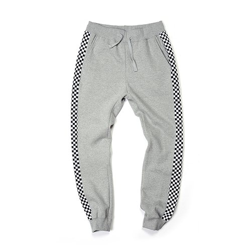 [단독30%할인] [Buried Alive] Ba 15 Checkers Sweat Pants_Grey