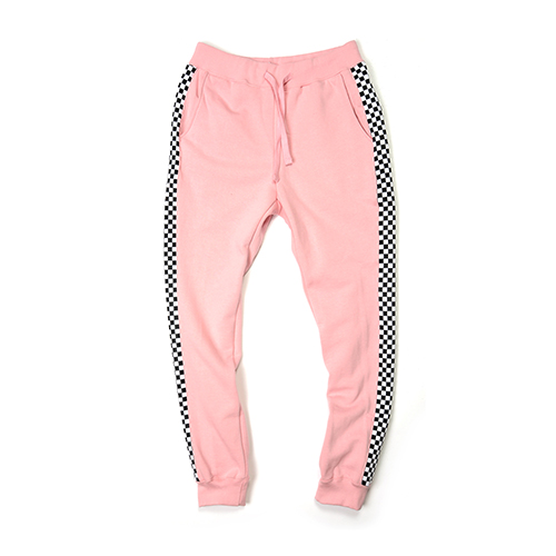 [단독30%할인] [Buried Alive] Ba 15 Checkers Sweat Pants_Pink