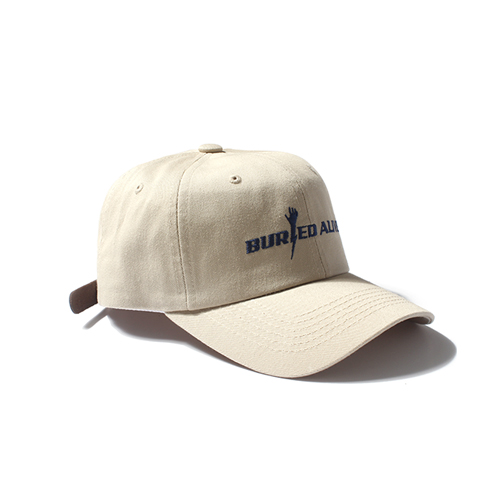 [Buried Alive] Ba Logo Ball Cap 2_Beige