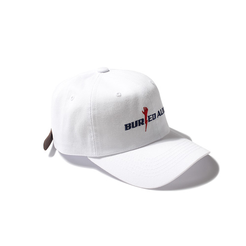 [Buried Alive] Ba Logo Ball Cap 2_White