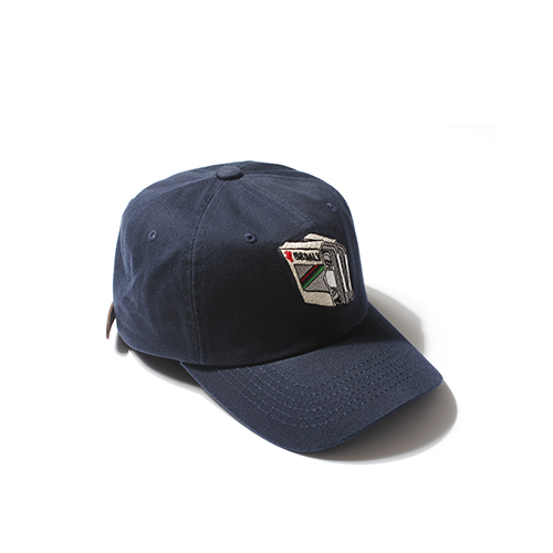 [Buried Alive] Ba Tape Ball Cap_Navy
