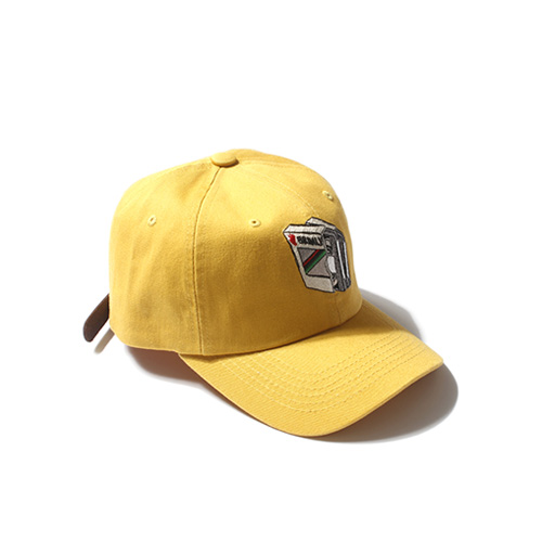 [Buried Alive] Ba Tape Ball Cap_Yellow